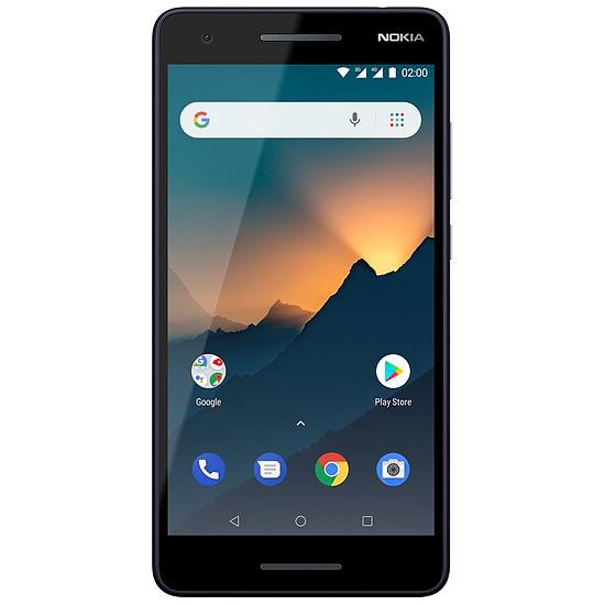 Smartphone et téléphone mobile Nokia 2.1 (bleu argenté) - 1 Go - 8 Go