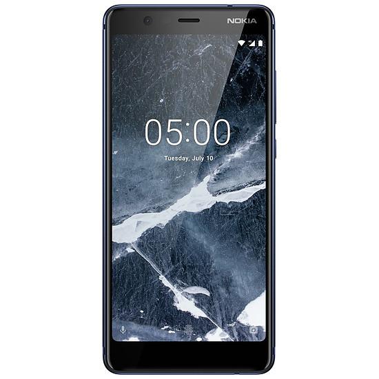 Smartphone et téléphone mobile Nokia 5.1 (TA-1075) (bleu) - 2 Go - 16 Go