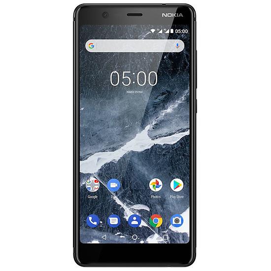 Smartphone et téléphone mobile Nokia 5.1 (TA-1075) (noir) - 2 Go - 16 Go