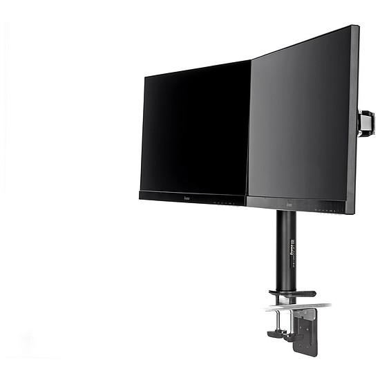 Écran PC Iiyama Pack ProLite E2483HS-B3 x2 + support double écran - Autre vue