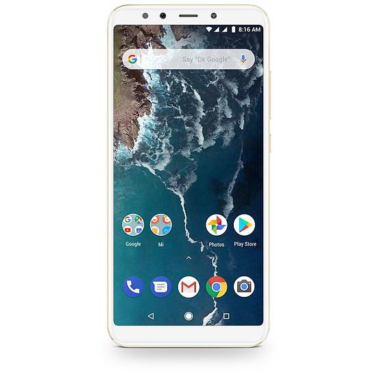 Smartphone et téléphone mobile Xiaomi Mi A2 (or) - 64 Go - Autre vue