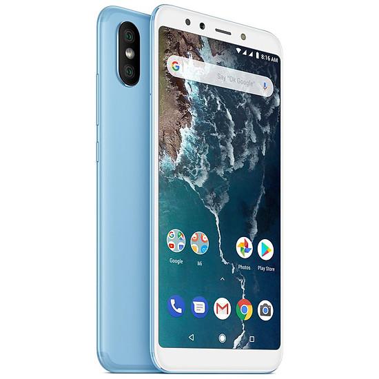 Smartphone et téléphone mobile Xiaomi Mi A2 (bleu) - 128 Go - 6 Go