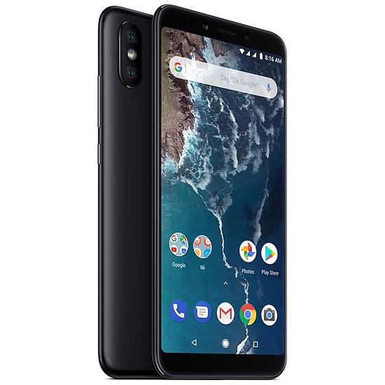 Smartphone et téléphone mobile Xiaomi Mi A2 (noir) - 128 Go - 6 Go
