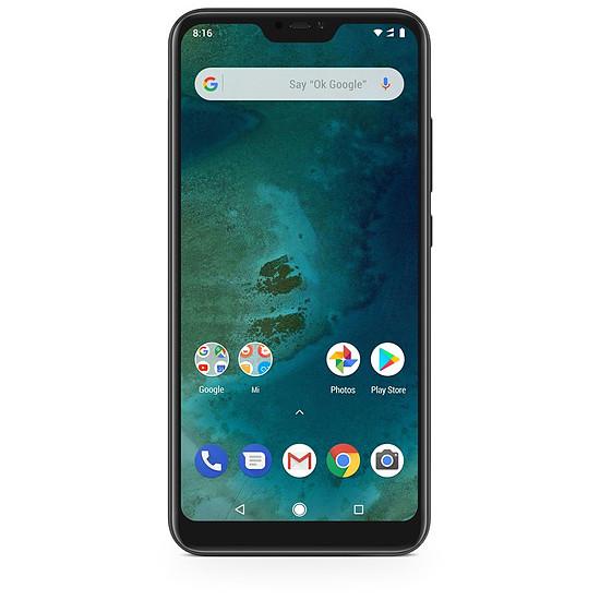 Smartphone et téléphone mobile Xiaomi Mi A2 Lite (noir) - 64 Go - 4 Go