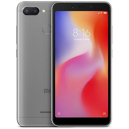 Smartphone et téléphone mobile Xiaomi Redmi 6 (gris) - 3 Go - 32 Go
