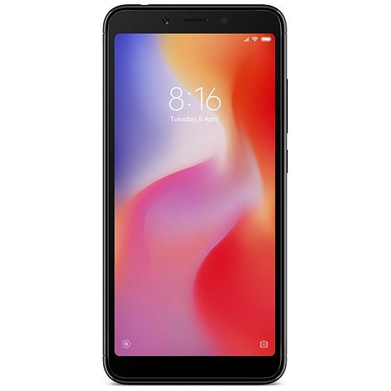 Smartphone et téléphone mobile Xiaomi Redmi 6 (noir) - 3 Go - 32 Go - Autre vue