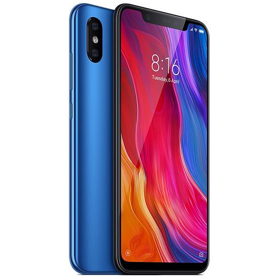 Smartphone et téléphone mobile Xiaomi Mi 8 (bleu) - 64 Go