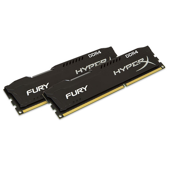 Mémoire HyperX Fury Black 2 x 8 Go 2666 MHz + A1000 NVME 480 Go