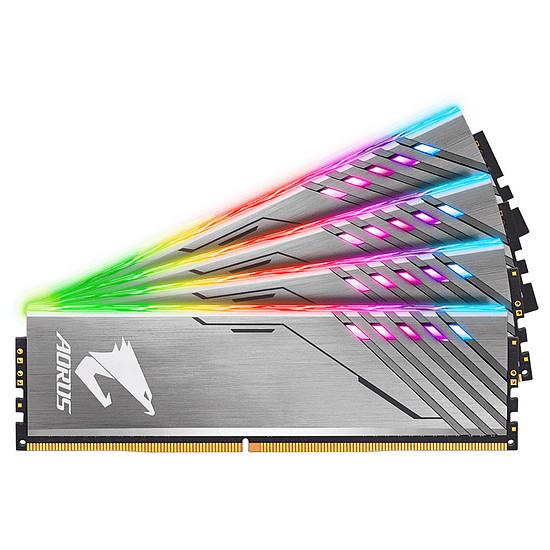 Mémoire Gigabyte Aorus RGB DDR4 2 x 8 Go 3200 MHz CAS 16 + 2 x 0 Go RGB