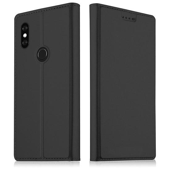 Coque et housse Akashi Paris Etui folio (noir) - Xiaomi Mi A2 Lite