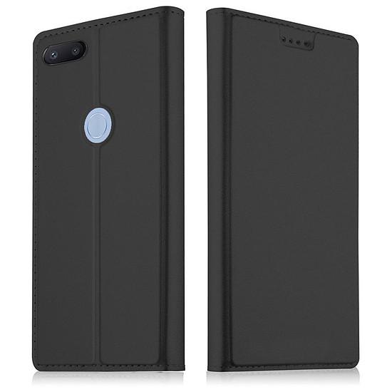 Coque et housse Akashi Paris Etui folio (noir) - Xiaomi Redmi 6