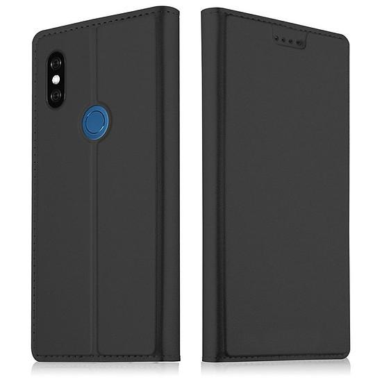 Coque et housse Akashi Paris Etui folio (noir) - Xiaomi Mi 8