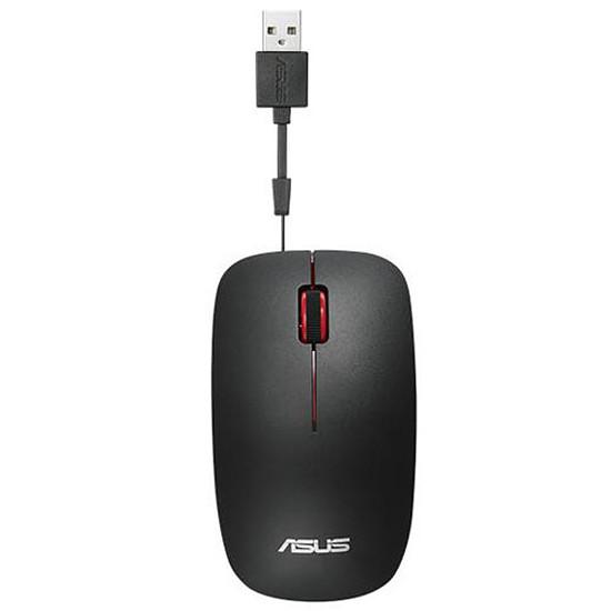 Souris PC Asus UT300 - Noir/Rouge