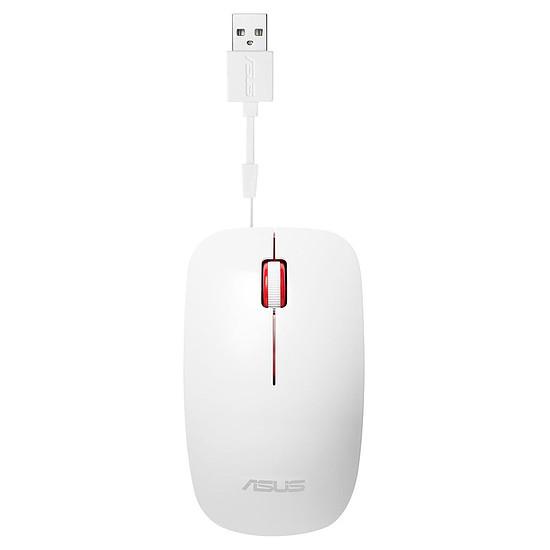 Souris PC Asus UT300 - Blanc/Rouge