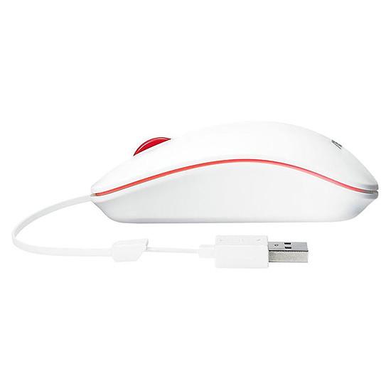 Souris PC Asus UT300 - Blanc/Rouge - Autre vue