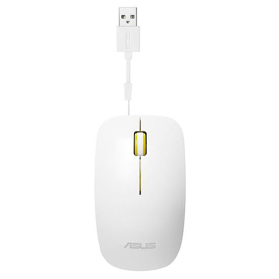 Souris PC Asus UT300 - Blanc/Jaune