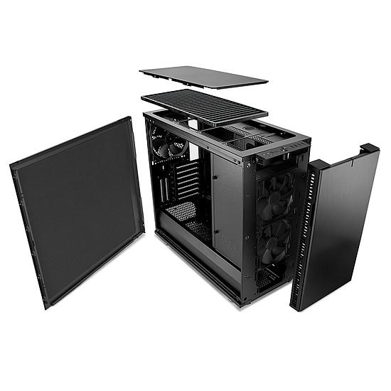 Boîtier PC Fractal Design Define R6 USB-C - Blackout - Autre vue