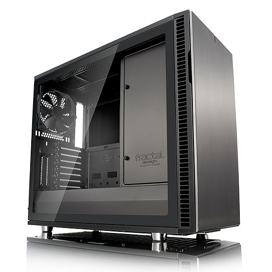 Boîtier PC Fractal Design Define R6 USB-C TG - GunMetal