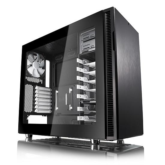 Boîtier PC Fractal Design Define R5 Black + panneau latéral verre trempé