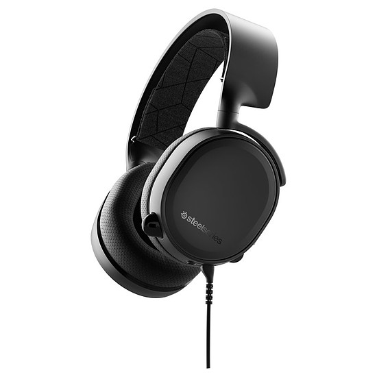 Casque micro SteelSeries Arctis 3 (2019 Edition) - Noir