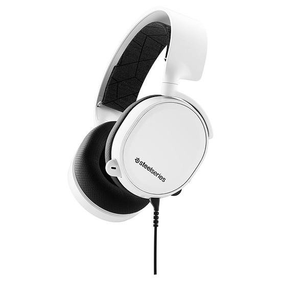 Casque micro SteelSeries Arctis 3 (2019 Edition) - Blanc