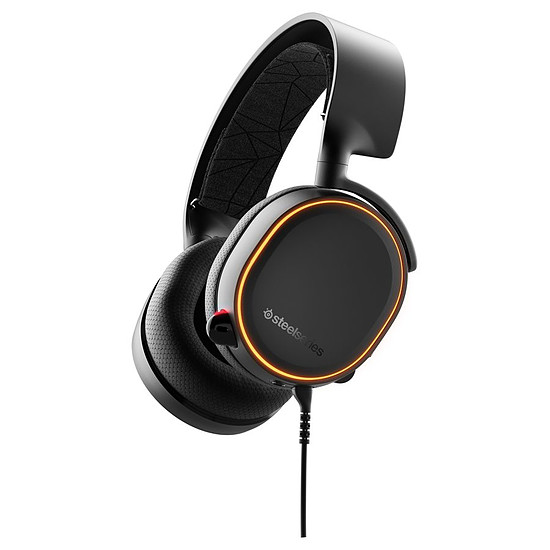 Casque micro SteelSeries Arctis 5 (2019 Edition) - Noir