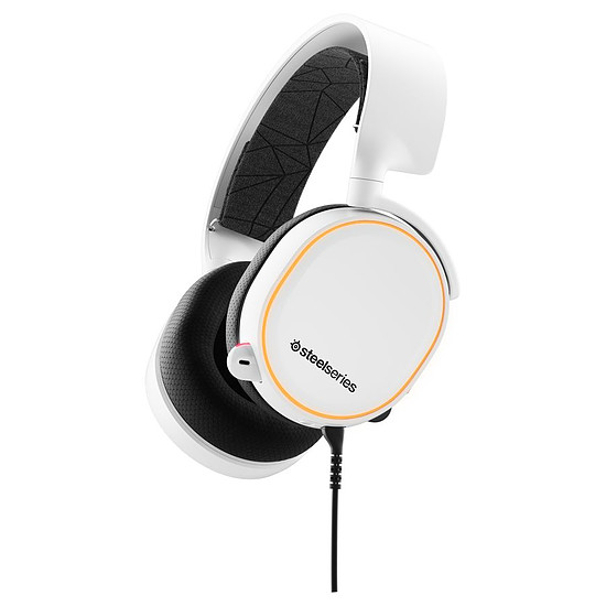 Casque micro SteelSeries Arctis 5 (2019 Edition) - Blanc
