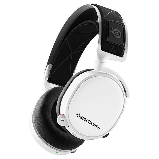 Casque micro SteelSeries Arctis 7 (2019 Edition) - Blanc