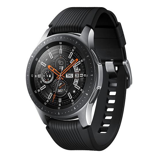 Montre connectée Samsung Galaxy Watch (gris acier - noir) - GPS - 46 mm