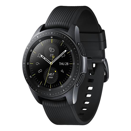 Montre connectée Samsung Galaxy Watch (noir carbone - noir) - GPS - 42 mm