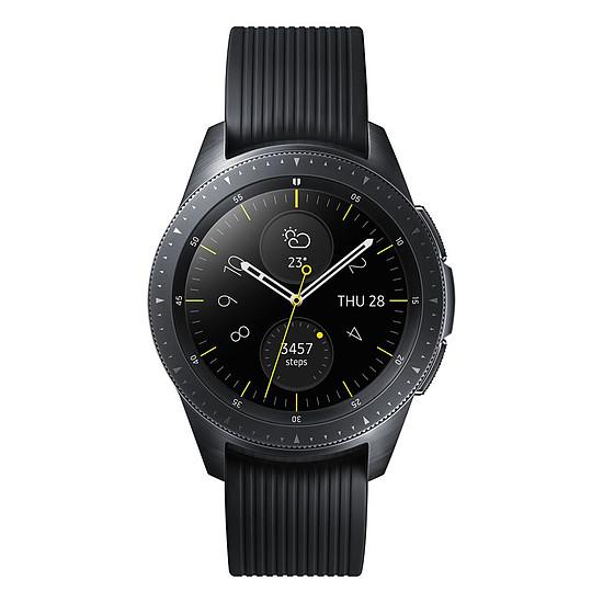 Montre connectée Samsung Galaxy Watch (noir carbone - noir) - GPS - 42 mm - Autre vue
