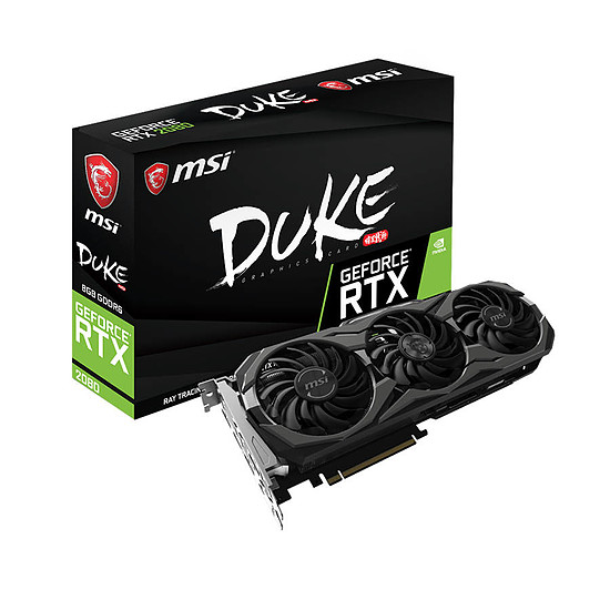 Carte graphique MSI GeForce RTX 2080 Duke OC - 8 Go GDDR6