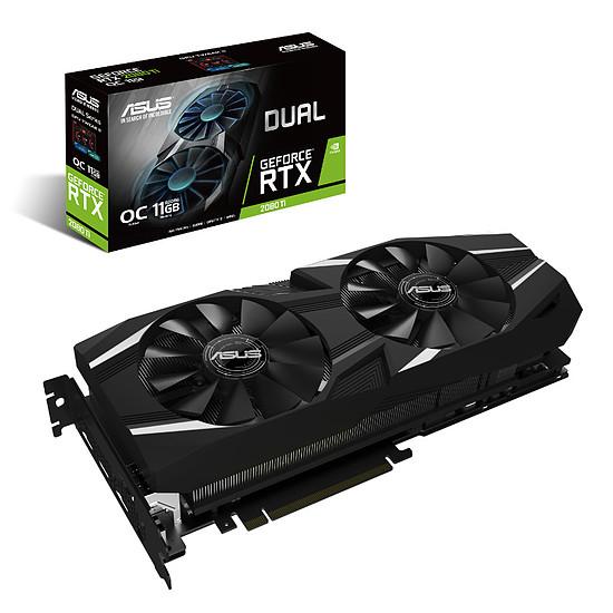 Carte graphique Asus GeForce RTX 2080 Ti Dual OC - 11 Go
