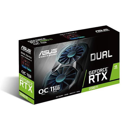 Carte graphique Asus GeForce RTX 2080 Ti Dual OC - 11 Go - Autre vue