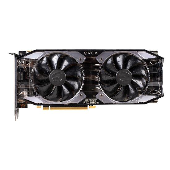 Carte graphique EVGA GeForce  RTX 2080 Ti XC  - 11 Go GDDR6 - Autre vue