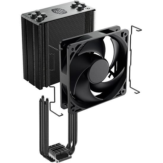 Refroidissement processeur Cooler Master Hyper 212 Black Edition - Autre vue