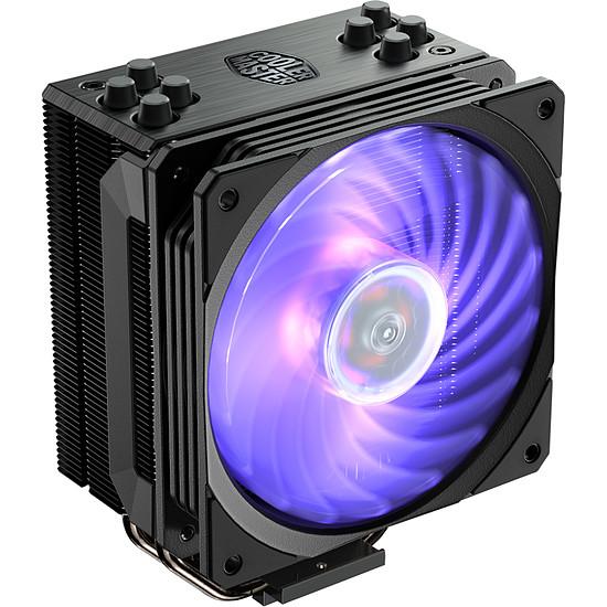 Refroidissement processeur Cooler Master Hyper 212 RGB Black Edition