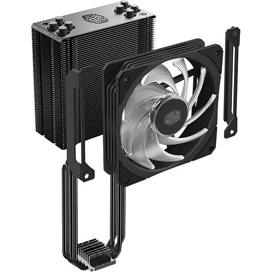 Refroidissement processeur Cooler Master Hyper 212 RGB Black Edition - Autre vue