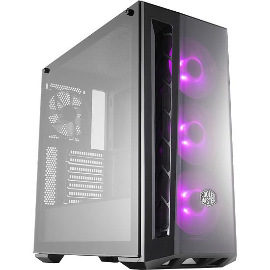Boîtier PC Cooler Master Masterbox MB520 TG RGB - Noir