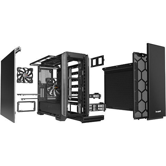 Boîtier PC Be Quiet Silent Base 601 - Silver - Autre vue