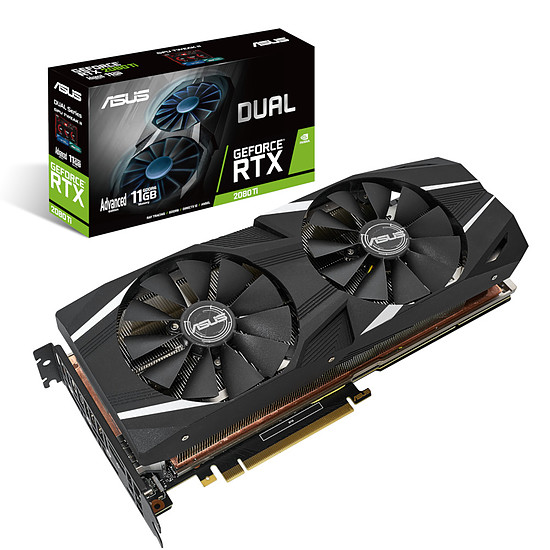 Carte graphique Asus GeForce RTX 2080 Ti Dual A11G
