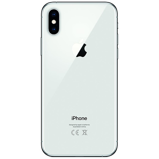 Smartphone et téléphone mobile Apple iPhone Xs (argent) - 64 Go - 4 Go - Autre vue