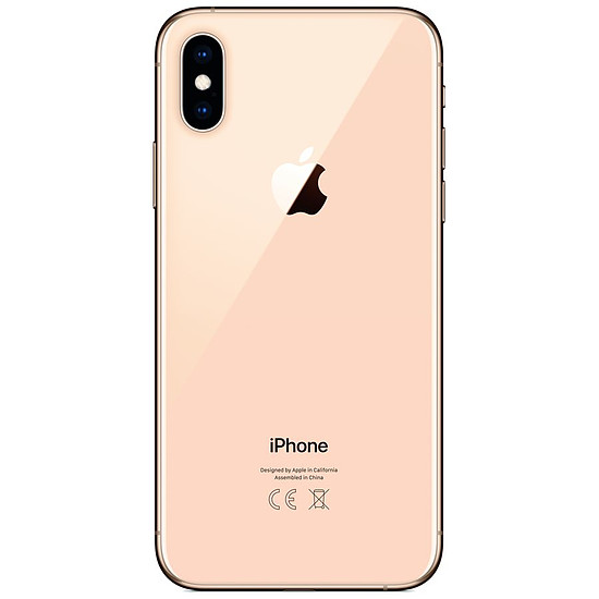 Smartphone et téléphone mobile Apple iPhone Xs (or) - 256 Go - 4 Go - Autre vue