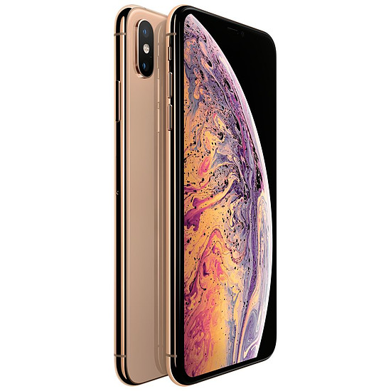 Smartphone et téléphone mobile Apple iPhone Xs Max (or) - 256 Go - 4 Go