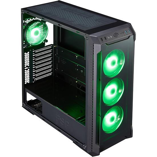 Boîtier PC FSP Fortron CMT520 RGB TG - Autre vue
