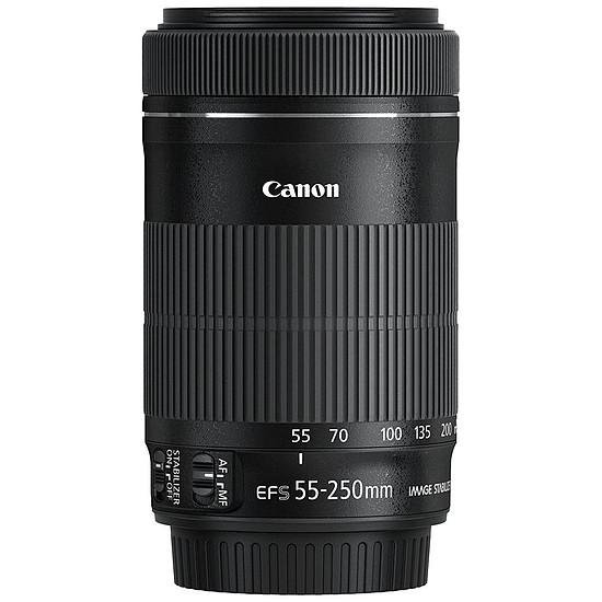 Objectif pour appareil photo Canon EF-S 55-250mm f/4-5.6 IS STM - Autre vue