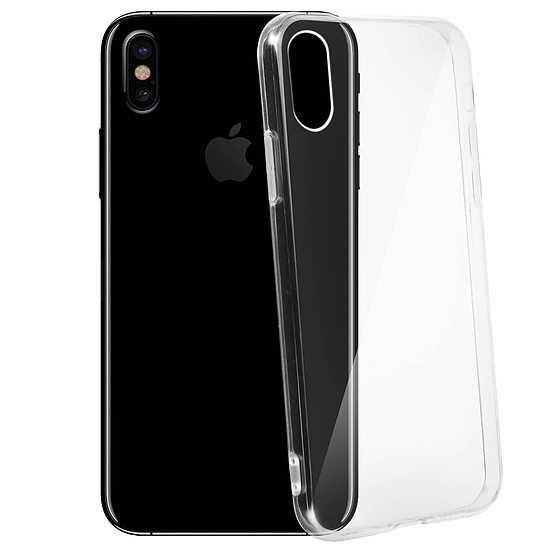 Coque et housse Akashi Paris Coque (transparente) - iPhone X - iPhone Xs - Autre vue
