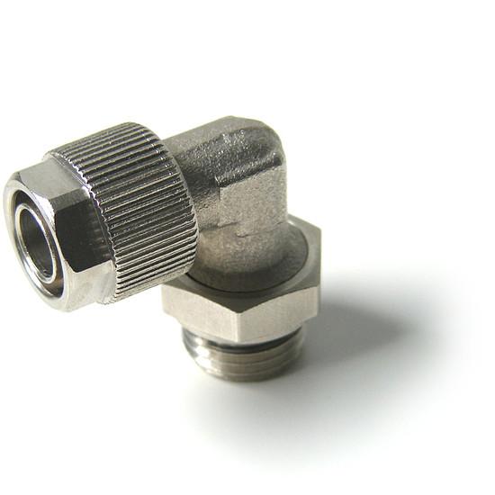 """Watercooling  Embout coudé 10 mm, fil. 1/4"""" - Autre vue"""