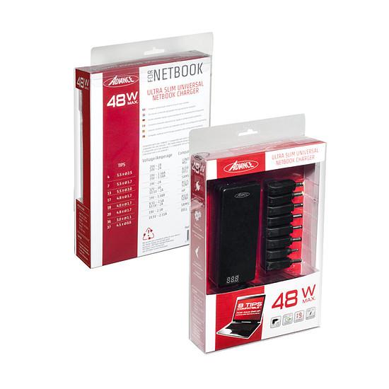 Chargeur PC portable Advance Chargeur universel pour Netbook 48W - CHG-N048