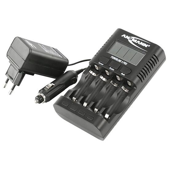 Pile et chargeur Ansmann Chargeur Powerline 4 Pro
